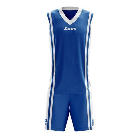 Детски Баскетболен Екип ZEUS Kit Bozo Royal/Bianco 506183 Kit Bozo