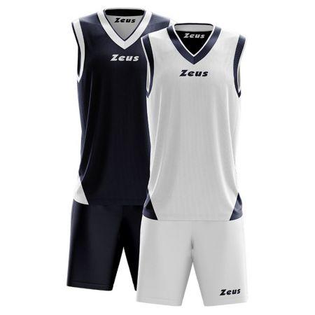 Баскетболен Екип ZEUS Reversible Kit Doblo Blu/Bianco 506144 Kit Doblo