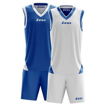 Детски Баскетболен Екип ZEUS Reversible Kit Doblo 506156 Kit Doblo
