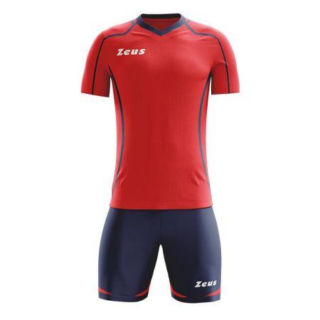 Детски Футболен Екип ZEUS Kit Fauno M/C Blu/Rosso 505560 Kit Fauno M/C