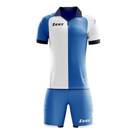 Детски Футболен Екип ZEUS Kit Gryfon Royal/Bianco 511285 KIT GRYFON