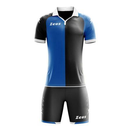 Детски Футболен Екип ZEUS Kit Gryfon Nero/Royal 511091 KIT GRYFON