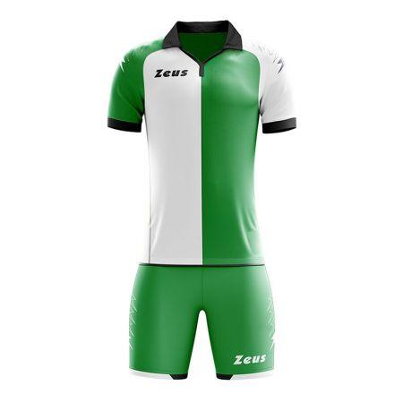 Детски Футболен Екип ZEUS Kit Gryfon Verde/Bianco 511287 KIT GRYFON