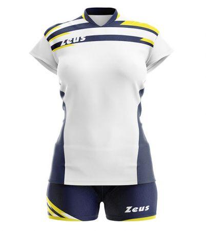 Дамски Волейболен Екип ZEUS Kit Itaca Donna Bianco/Blu 506071 Kit Itaca Donna