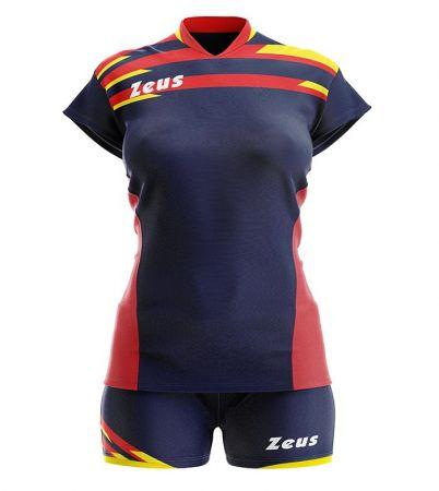 Дамски Волейболен Екип ZEUS Kit Itaca Donna Blu/Rosso 506076 Kit Itaca Donna
