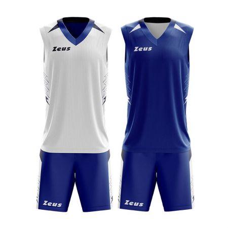 Двулицев  Баскетболен Екип ZEUS Reversible Kit Jam 511296 KIT JAM