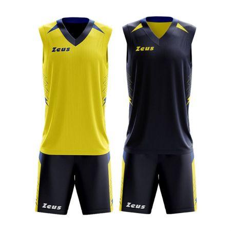 Детски Баскетболен Екип ZEUS Reversible Kit Jam 511305