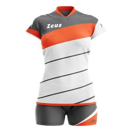 Дамски Волейболен Екип ZEUS Kit Lybra Donna Bianco/Arancio 506054 Kit Lybra Donna