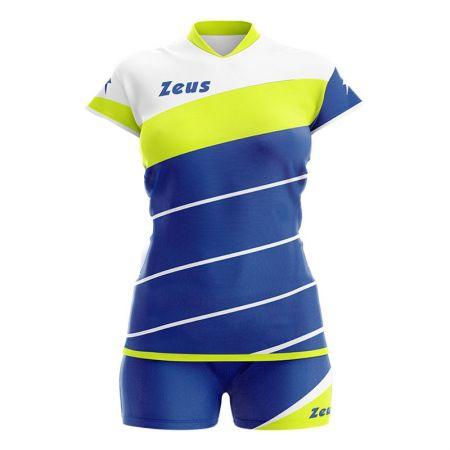 Дамски Волейболен Екип ZEUS Kit Lybra Donna Electric Royal/Giallo fluo 506050 Kit Lybra Donna