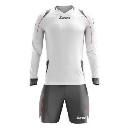 Вратарски Екип ZEUS Kit Gk Paros Bianco/Grigio scuro 505992 Kit Gk Paros