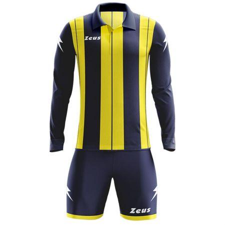 Детски Футболен Екип ZEUS Kit Pitagora Blu/Giallo 505813 KIT PITAGORA