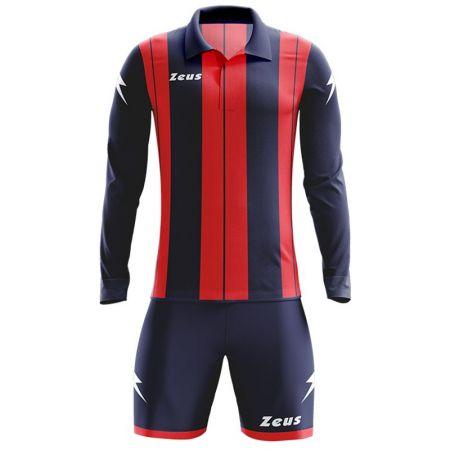 Детски Футболен Екип ZEUS Kit Pitagora Blu/Rosso 505814 KIT PITAGORA
