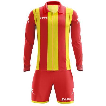 Детски Футболен Екип ZEUS Kit Pitagora Rosso/Giallo 505819 KIT PITAGORA