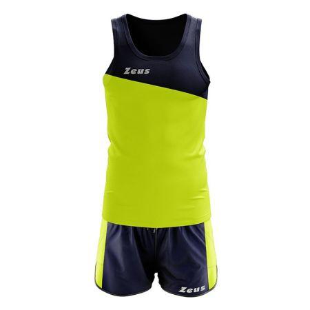 Екип За Бягане ZEUS Kit Robert Blu/Giallo Fluo 506227 Kit Robert