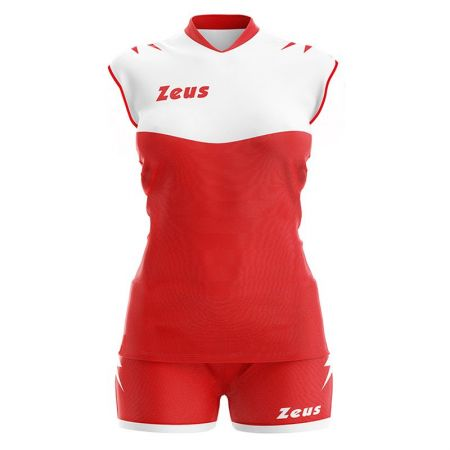 Волейболен Екип ZEUS Kit Volley Sara Slim Fit Rosso/Bianco 513296 Kit Volley Sara