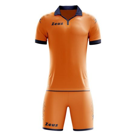 Детски Футболен Екип ZEUS Kit Scorpion Arancio/Blu 505607 KIT SCORPION