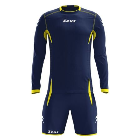 Детски Футболен Екип ZEUS Kit Sparta Blu/Giallo 505734 Kit Sparta