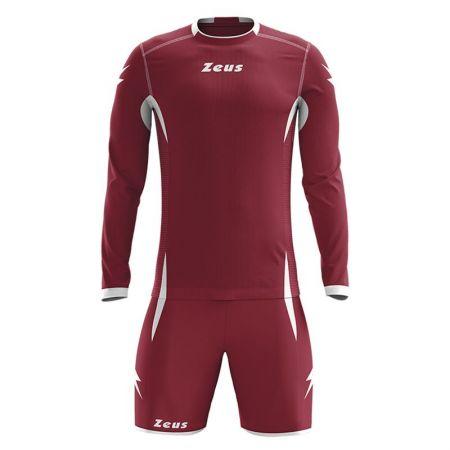 Детски Футболен Екип ZEUS Kit Sparta Granata/Bianco