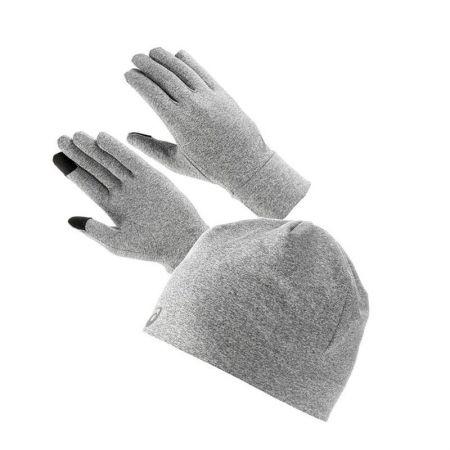 Комплект Шапка и Ръкавици ASICS Running Pack Carbon 520023 3013A035-020
