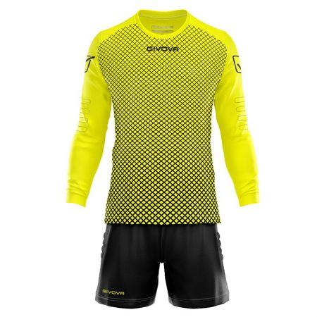 Детски Вратарски Екип GIVOVA Goalkeeper Kit Manchester 1910 510736 KITP008