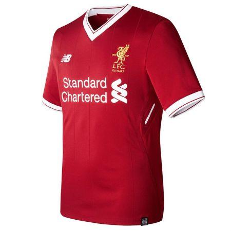 Официална Фланелка Ливърпул LIVERPOOL Mens Home Shirt 17-18 510985