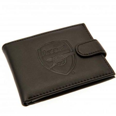 Портфейл ARSENAL Embossed Leather Wallet 501138  изображение 3