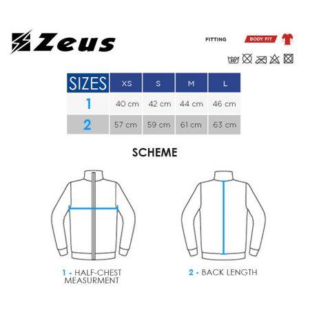 Мъжка Спортна Термо Блуза ZEUS Maglia Lupetto Bianco 506427 Maglia Lupetto изображение 2