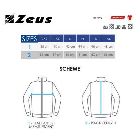 Детска Спортна Термо Тениска ZEUS Maglia Fisiko M/L Blu 506420 Maglia Fisiko M/L изображение 2