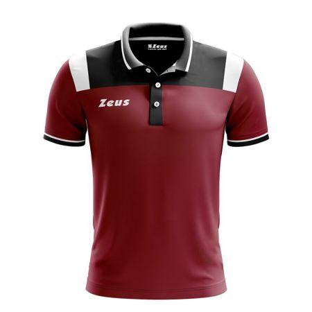 Мъжка Тениска ZEUS Polo Vesuvio Granata/Nero 518339 Polo Vesuvio