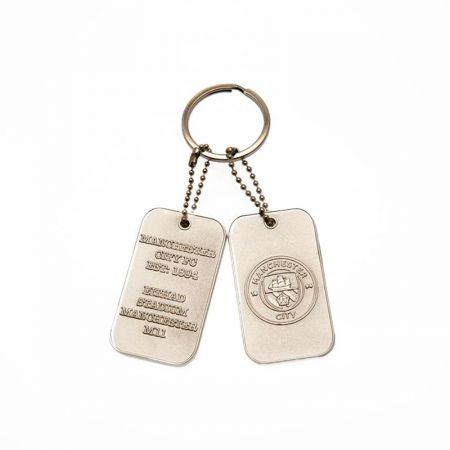 Ключодържател MANCHESTER CITY Tag Keyring 505392 a35kdtmc