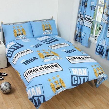 Спално Бельо MANCHESTER CITY Double Duvet Set PT