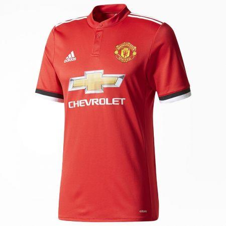 Официална Фланелка Манчестър Юнайтед MANCHESTER UNITED Mens Home Shirt 17-18 510988