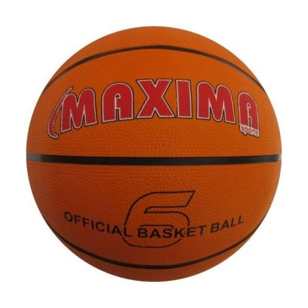 Баскетболна Топка MAXIMA Official Basketball Rubber 6 502009 200661