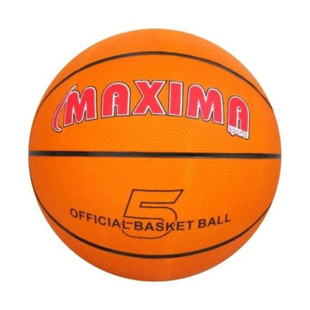 Баскетболна Топка MAXIMA Official Basketball Rubber 5 502010