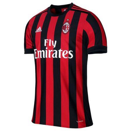 Официална Фланелка Милан MILAN Mens Home Shirt 17-18 510987