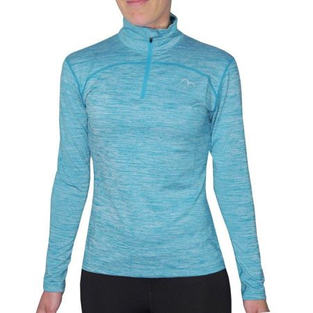 Дамски Суичър MORE MILE Heather 1/4 Zip Ladies Running Top 508545  MM2506