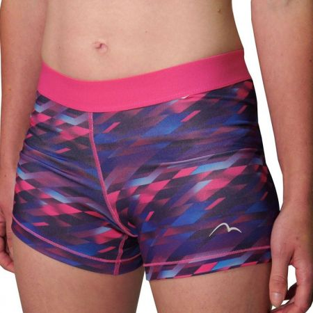 Дамски Къси Панталони MORE MILE Go For It Printed Ladies Running Short Tights 508561