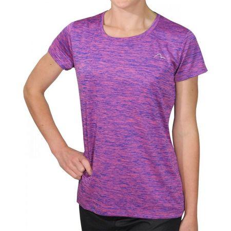 Дамска Тениска MORE MILE M-Tech Dry Ladies Short Sleeve Running Top 508563