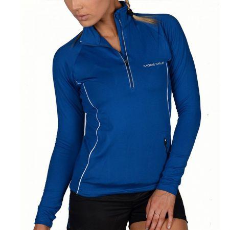 Дамски Суичър MORE MILE Vancouver Thermal Hi-Viz Ladies Running Top 508680