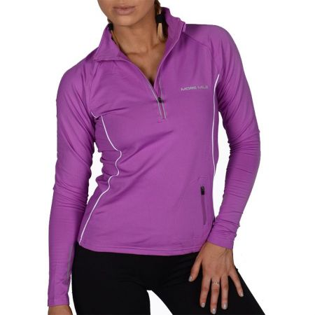 Дамски Суичър MORE MILE Vancouver Thermal Hi-Viz Ladies Running Top 508800 MM1464