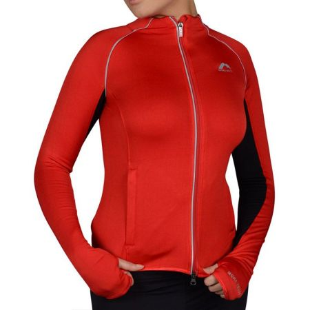 Дамски Суичър MORE MILE More-Tech Thermal Full Zip Ladies Running Top 508682 MM1533