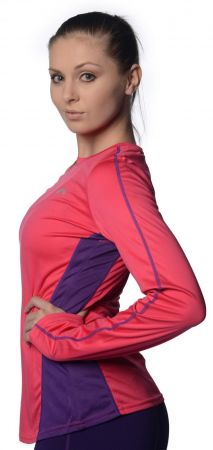 Дамска Блуза MORE MILE More-Tech Ladies Slim Fit Running Top 508748 MM1691t изображение 3