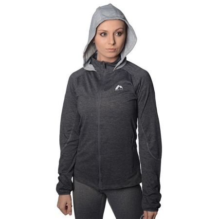 Дамски Суичър MORE MILE Marl Full Zip Ladies Running Hoody  508656 MM1744
