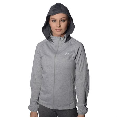 Дамски Суичър MORE MILE Marl Full Zip Ladies Running Hoody  508659 MM1745