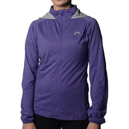 Дамски Суичър MORE MILE Marl Full Zip Ladies Running Hoody  508655 MM1746