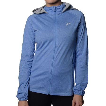 Дамски Суичър MORE MILE Marl Full Zip Ladies Running Hoody  508658 MM1748