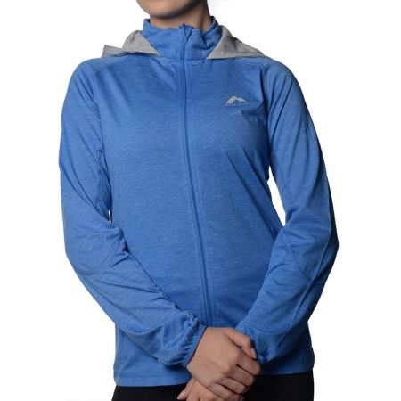 Дамски Суичър MORE MILE Marl Full Zip Ladies Running Hoody  508660 MM1749