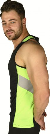 Мъжки Потник MORE MILE More-Tech Mens Running Vest  508392  MM1873 изображение 2