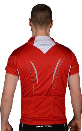 Мъжка Тениска MORE MILE Short Sleeve Mens Cycle Jersey 508433 MM1964 изображение 3
