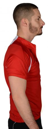 Мъжка Тениска MORE MILE Short Sleeve Mens Cycle Jersey 508433 MM1964 изображение 2